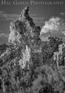 Tufa Formations Mono Lake, California 1707S-T8BW1