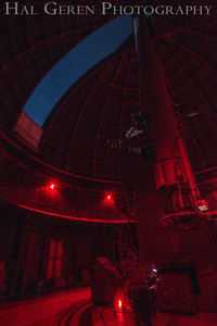 "Lick Observatory; the original 36"" Reflector Telescope Mt Hamilton,  Ca 1709A-"