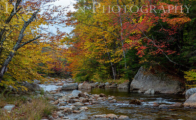 Swift Rivers Along the Kancamagus Highway, NH 1910V-S14