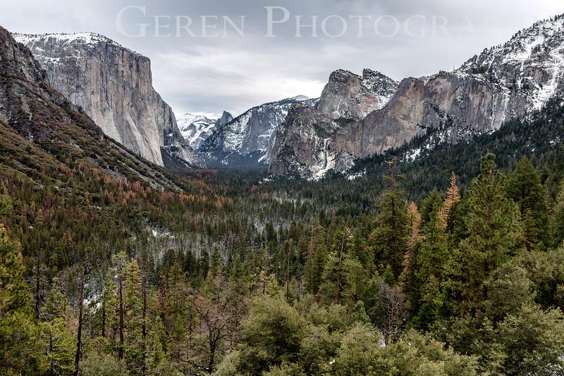 201601 Yosemite - Tunnel View 1