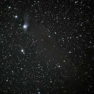 Wolf's Cave and Cepheus Flare Nebula