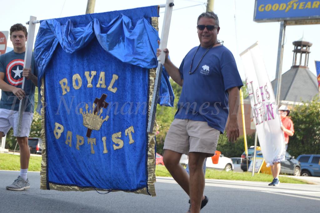 Parade Downtown Newnan