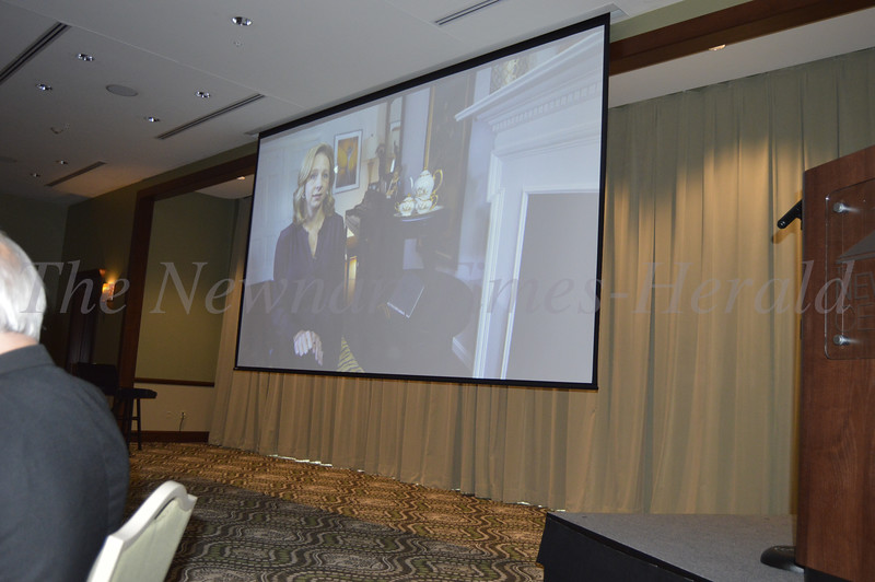 Photo By Maggie Bowers<br /> Local filmakers Jonathan and Maggie Hickman produced a special documentary, which was shown at the Grey Matters Dinner Event benefitting the Estes' nonprofit organization, Can't Never Could.