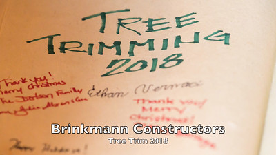Brinkmann Tree Trim 2018 1080P