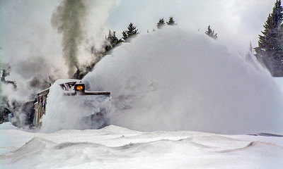 March 1, 2020.  Plowing at Cumbres.