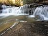 Bark Camp Creek Cascades, Whitley County, Kentucky.