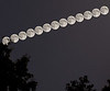 24 June 2013.  13 supermoons stacked.  Inspired by photographer Shay Stephens.