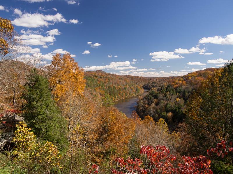 2 November 2013.  Cumberland River above the Falls.