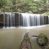 21 September 2014.  Princess Falls, McCreary County, Kentucky