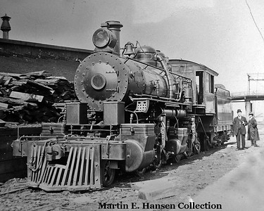 Martin Hansen posted this picture of the Skookum as delivered at Portland and here is the caption he wrote for it:  It was back in 1910 that Herb Arey took time away from his duties as a locomotive engineer for the Southern Pacific to go down to the yards in Portland, Oregon to see a very unique steam  that had just arrived on the afternoon freight.  This engine was on her way from the Baldwin Locomotive Works to her new owner the Whitney Company in Astoria, Oregon.  Arey, along with the others that saw her, were amazed by what she represented.   Here was the first of it's kind built by Baldwin.  She was a 2-4-4-2 mallet built for logging service.  This was Baldwin's very first logging mallet.  She would be followed into the woods in the next 29 years by nearly 40 more logging mallets of different wheel and tender arrangements.  However, none after her would be a 2-4-4-2.   Soon after Arey took this photo of this one-of-a-king locomotive she departed on her way to her new owner to start what would become a 45 year logging career in both Oregon and Washington.  No one present that day could know what fame lie ahead for this fascinating product from Baldwin.   Today, some 108 years after Arey took this fine portrait of her, she is about to be returned to service on the Oregon Coast near where she first started her logging career.  Her factory paint and lettering has all been re-applied just as before.  This month she will be back in service much to the delight for all who know just how unique and how historic a locomotive she is.   Back in 1910 she had no number on her spot plate.  None was needed.  She was quite unmistakable because of the name her owner had told Baldwin to paint across the sides of her cab; Skookum.   Martin