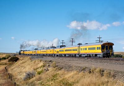 September 30, 2019.  Departing west from Granger, Wyoming.