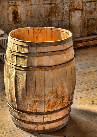 Wine Barrel, Gladding McBean, Lincoln, Ca