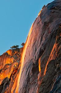 Firefall, Yosemite Valley, Ca