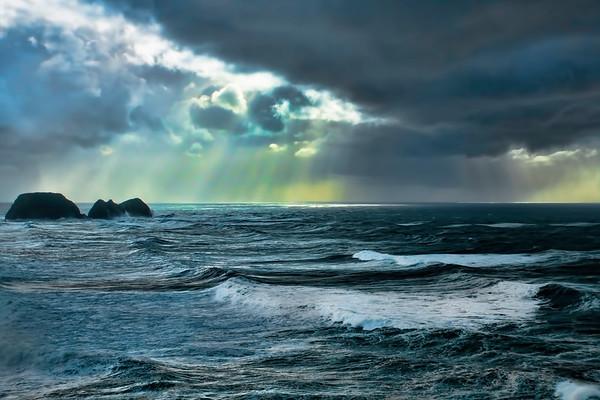 Storm, Oregon Coast, Oregon