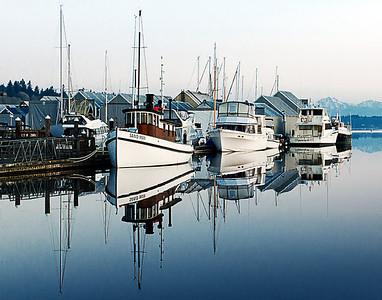 Dawn, Marina at Budd Bay, Olympia WA