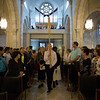 Reformation 500 sercvice at the Lutheran Church of the Redeemer in Jerusalem. Photo by Ben Gray / ELCJHL