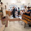 Berlin Mission Works delegation visits the Evangelical Lutheran Church of Beit Sahour on Sunday, 20 August 2017. Photo by Ben Gray / ELCJHL