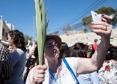 2018 Palm Sunday procession