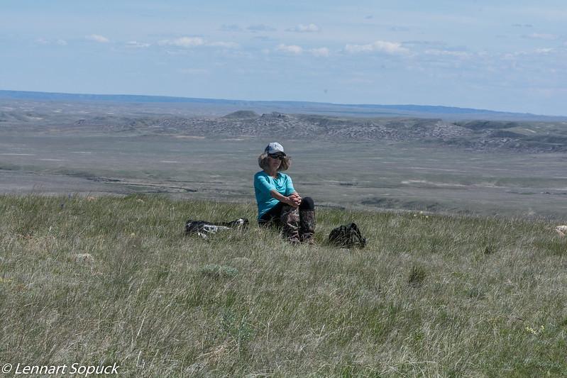 Grasslands National Park Butte 70