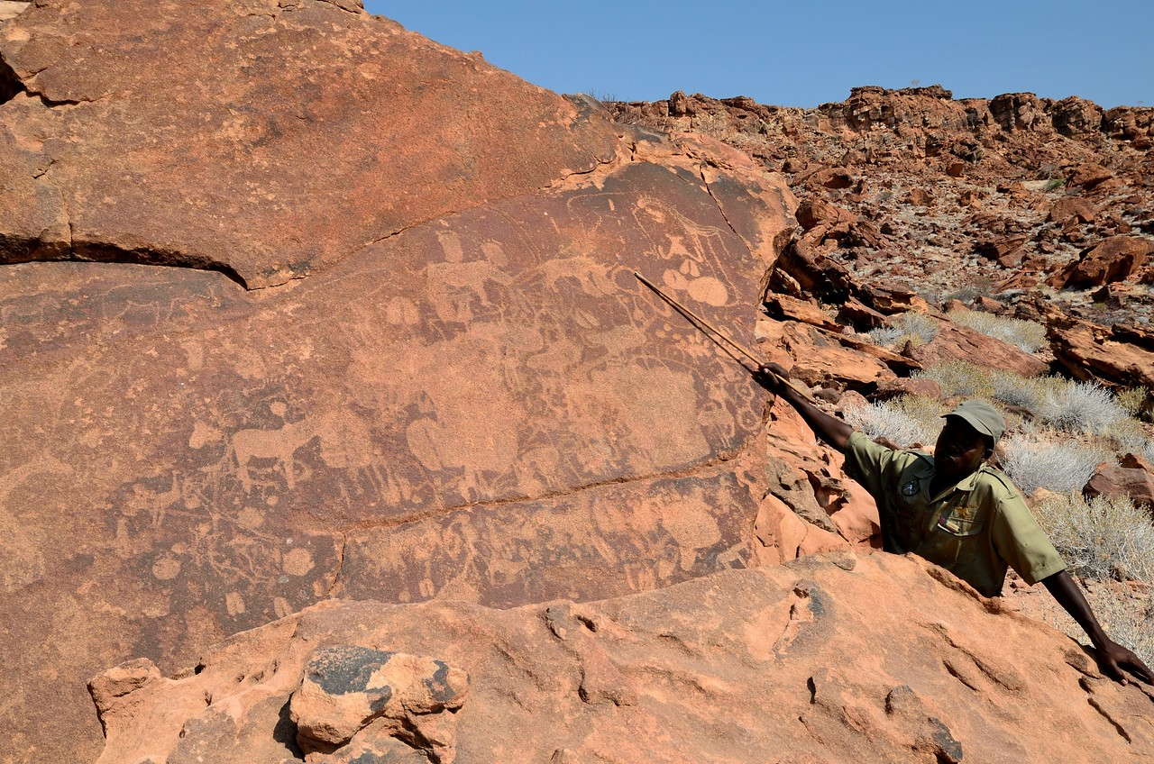 Rock Paintings at Twylenfontein 10