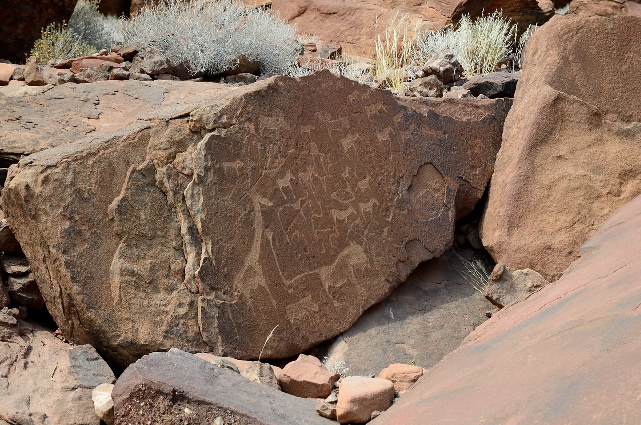 Rock Paintings at Twylenfontein 3