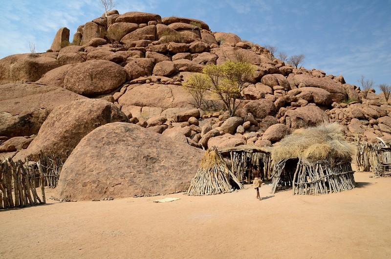 Fake Village  Chiefs Hut Namib Desert 2