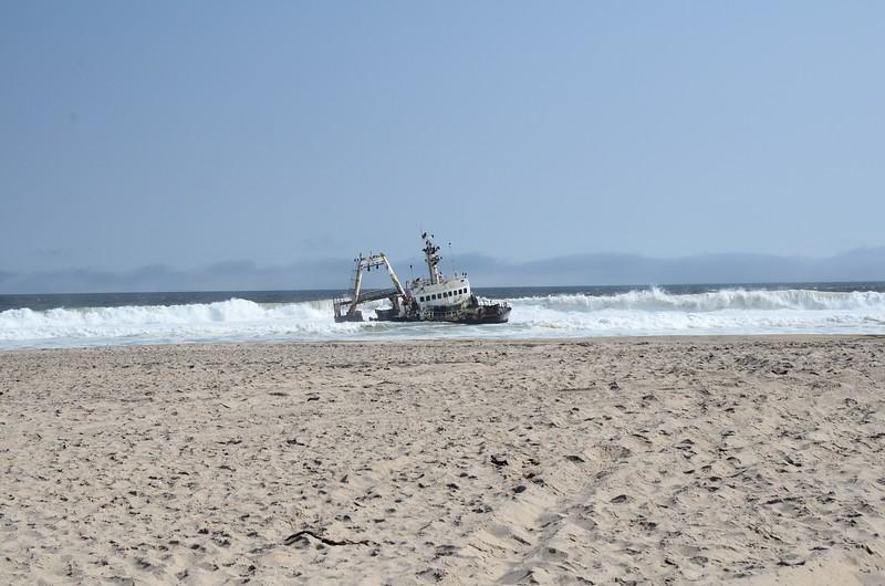 Shipwreck Skeleton Coast Namib Desert 1