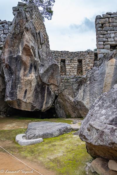 Machu Picchu Condor Temple