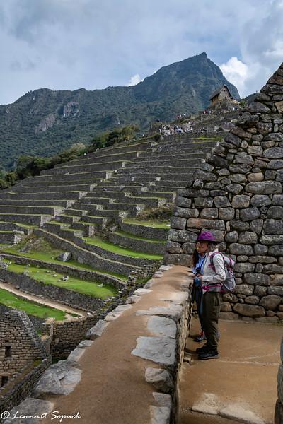 Machu Picchu agricultural terraces