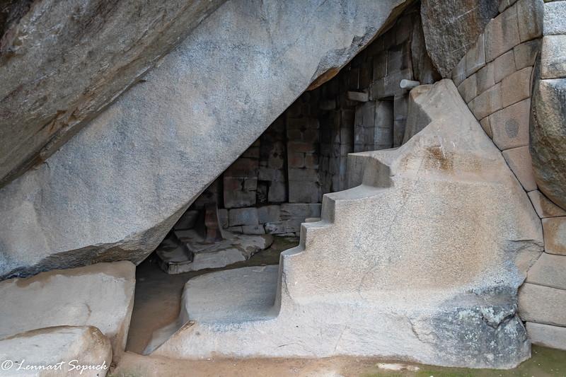 Royal Tomb under Sun Temple Mach Picchu