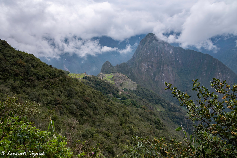 Machu Picchu from Sun Gate viewpoint