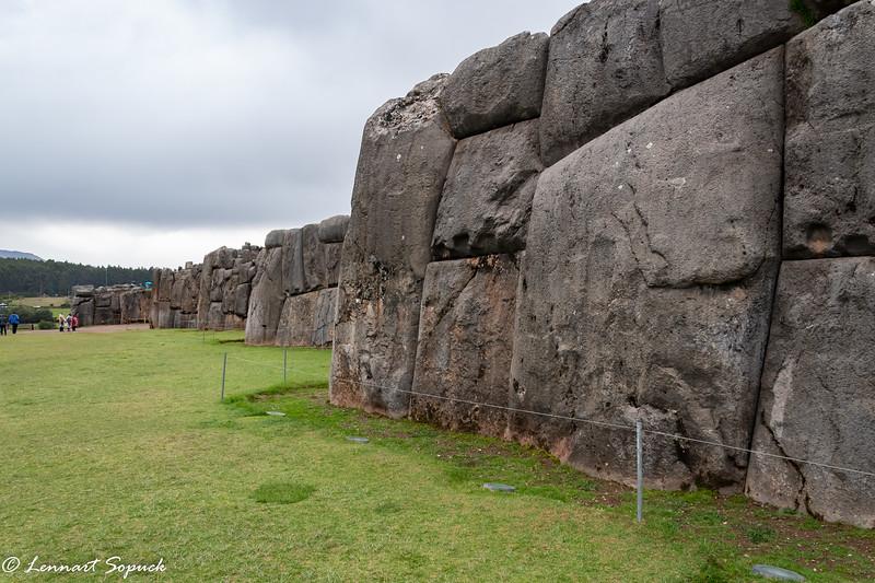 Sacsayhuaman Inca Ruins in Cusco