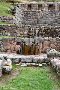 Tambomachay Inca Ruin and fountain