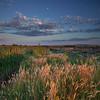 Twilight, Skagit River Delta, Washington