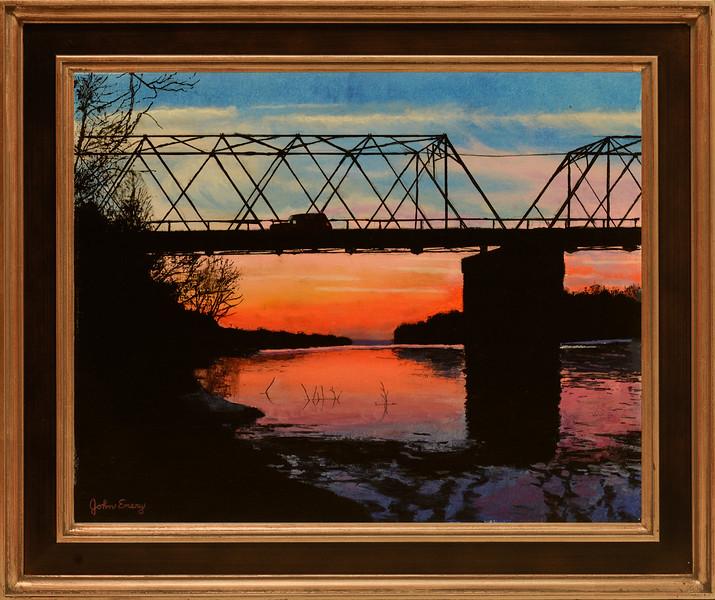 Washington Crossing Bridge at Dawn