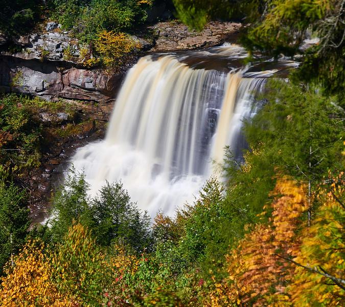Creamy falls