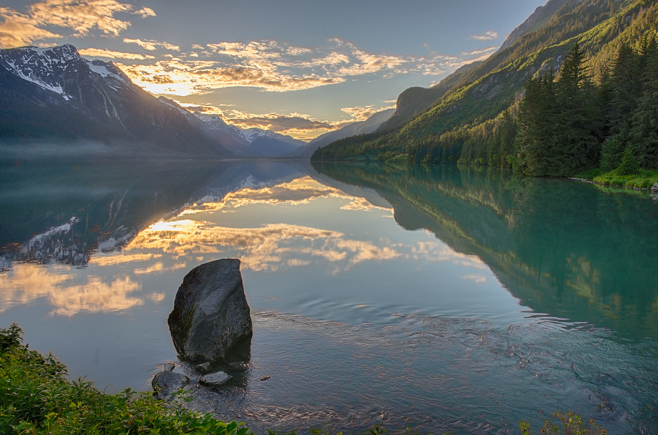 For as many shots as I have of Chilkoot Lake, this scene never gets old, and always seems to present a new, fresh, and compelling face. Chilkoot State Park; Haines, Alaska