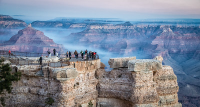 Time to catch up on sharing the holiday travels. I am starting to process the photos that came out of actual cameras and not my phone. On the whole, I was non-plussed with much of the trip. Starting at the Grand Canyon, controlled burns around the north rim kept the canyon full of smoke and haze and had been doing so for weeks according to the locals. Very few photos of any worthy consideration and by and large I was just as happy taking iPhotos. This one came out of a Nikon.