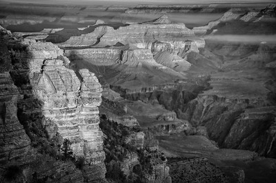 Variations on a theme. Sunrise from Yavapai Point, Grand Canyon. (One of the few shots I saved.) Which one do you like best?