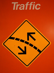 traffic arrows