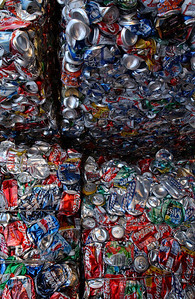crushed cans