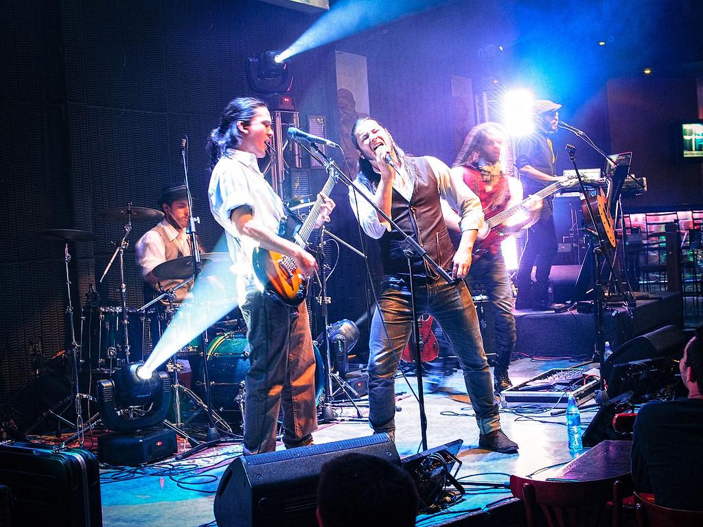Time's Forgotten Jazz Café Escazú 12-22-2012