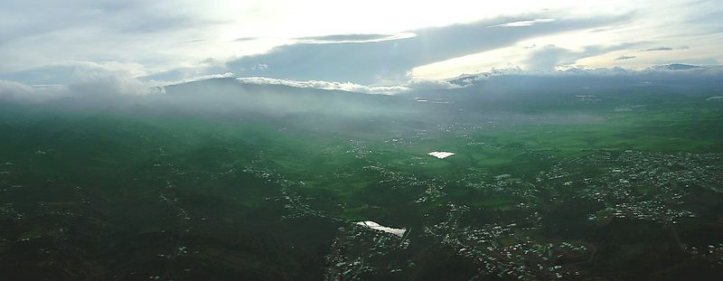 Panoramic from a Balloon
