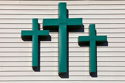 Three Green Crosses_5927