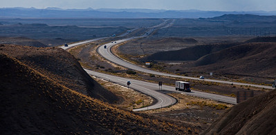 Interstate 70 Highway 191 North of Moab UT_1325