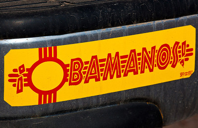 Obamanos Bumper Sticker Los Ojos NM_9241