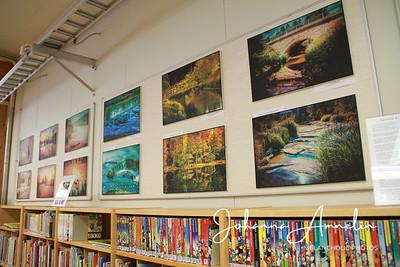 Lähialueiden vesistöjä näyttelyn kuvat esillä
