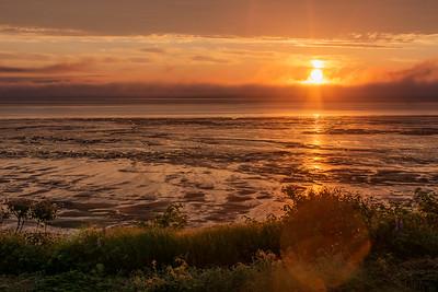 Sunrise, low tide, Avonport-1040744