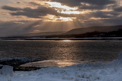 Granville Ferry sunset-1180449
