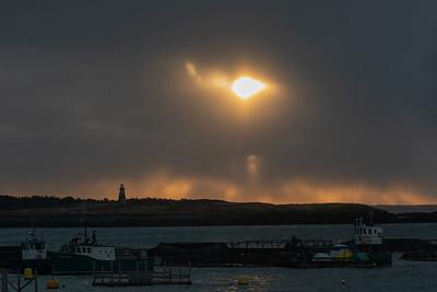 Snow clouds dawn Westport-1170573